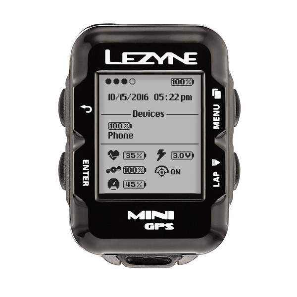 Lezyne Mini GPS - Fahrradcomputer