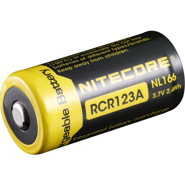 Nitecore NL166 - RCR123A Li-Ion Akku 650mAh - Akkus