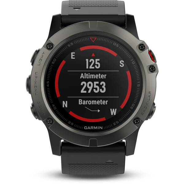 Garmin fenix 5X Saphir - Smartwatch