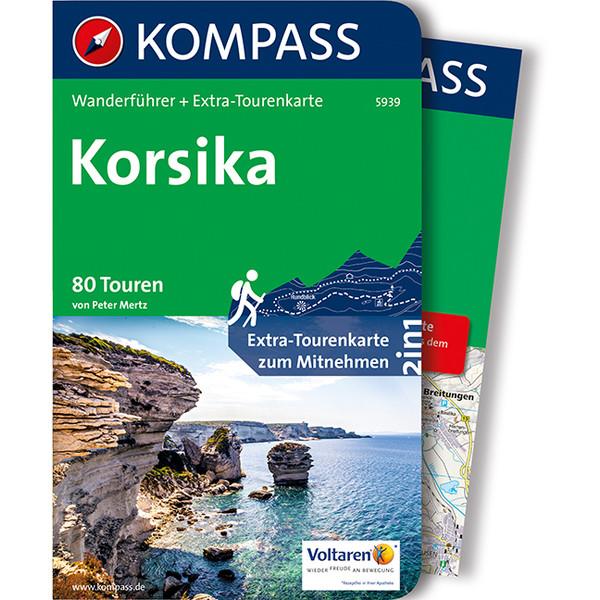 Kompass Wanderführer Korsika