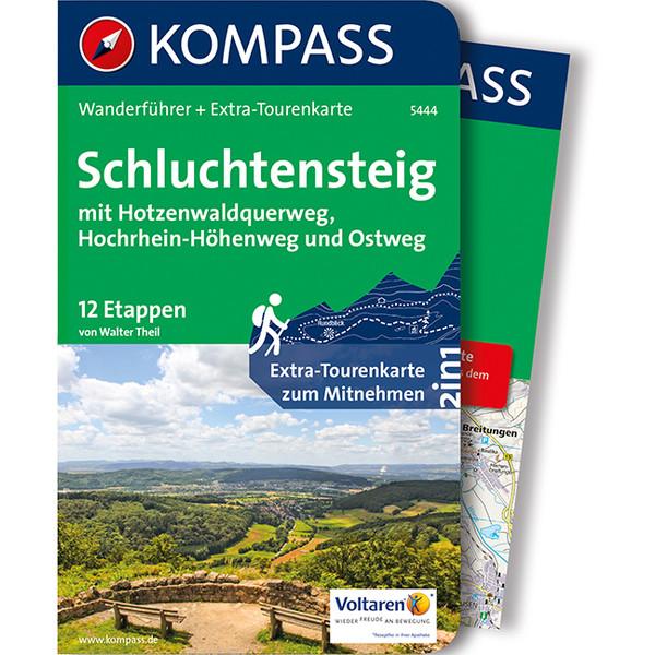 Kompass Wanderführer Schluchtensteig