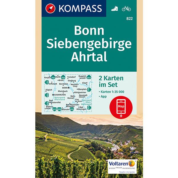 KOKA 822 Bonn, Siebengebirge, Ahrtal