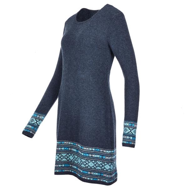 Maya Dress Sherpa Jacquard Kleid Sherpa Maya HIWD9YE2