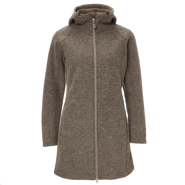 FRILUFTS Liminka Hooded Fleece Coat Frauen - Fleecejacke