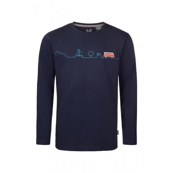 Elkline IN80TAGEN Männer - Langarmshirt