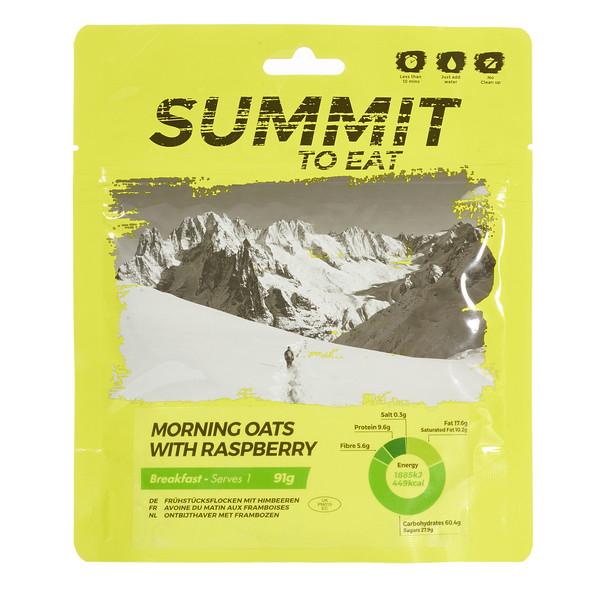 Summit to Eat MÜSLI MIT HIMBEEREN - - Outdoor Essen