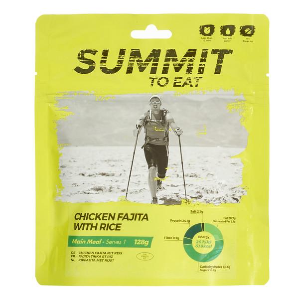 Summit to Eat Mexikanisches Hühnchen (Fajita) mit Reis - Outdoor Essen