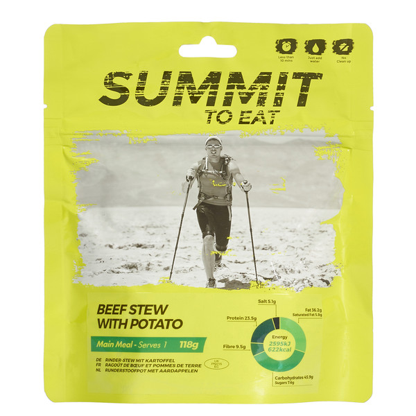 Summit to Eat Rinder-Stew mit Kartoffel - Outdoor Essen