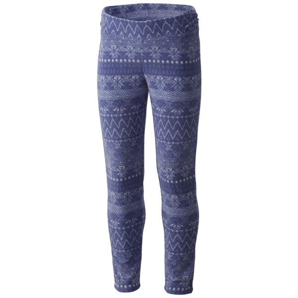 Columbia Glacial Printed Legging Kinder - Fleecehose