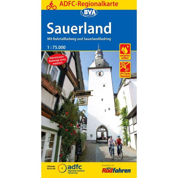 ADFC-Regionalkarte Sauerland