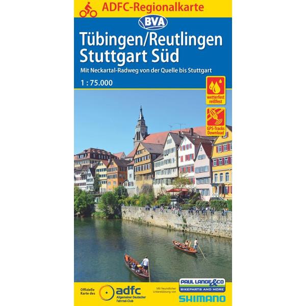 ADFC-Regionalkarte Tübingen/Reutlingen