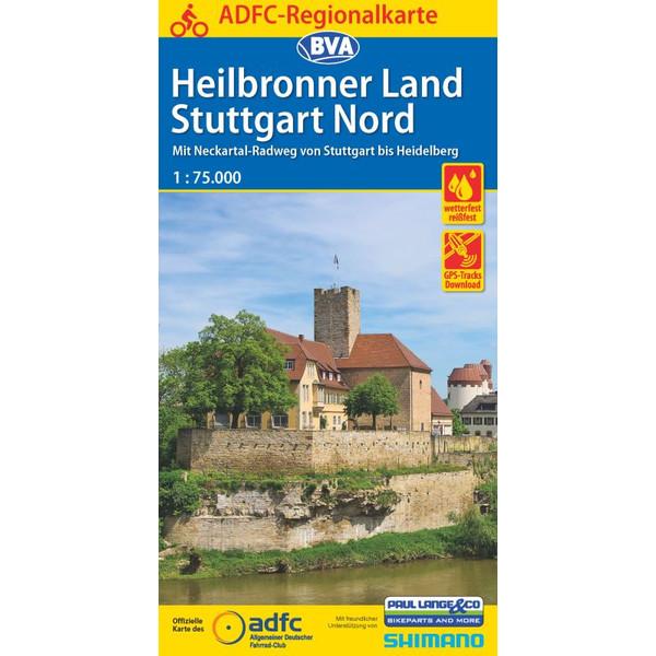 ADFC-Regionalkarte Heilbronner Land