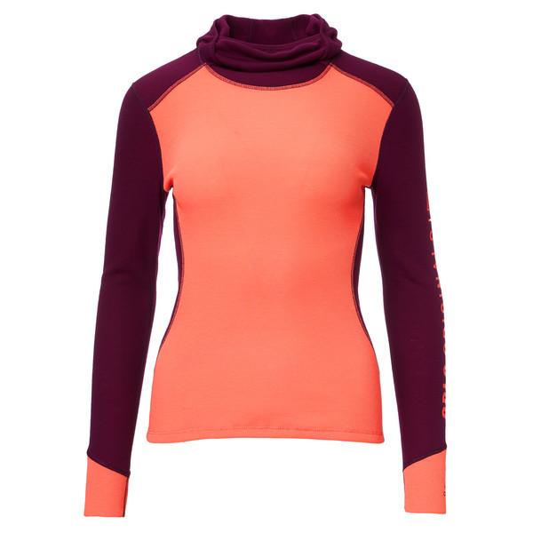 Odlo Facemask Warm Revelstoke L/S Shirt Frauen - Funktionsunterwäsche