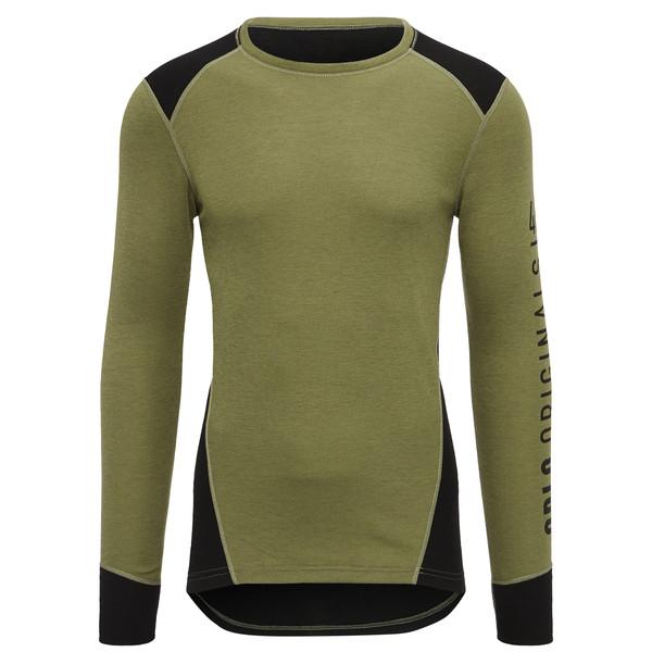 Odlo Crew Neck Warm Revelstoke L/S Shirt Männer - Funktionsunterwäsche