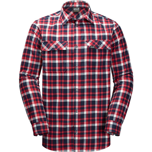 Jack Wolfskin Bow Valley Shirt Männer - Outdoor Hemd