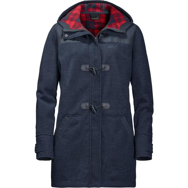 Jack Wolfskin Edmonton Coat Frauen - Fleecejacke