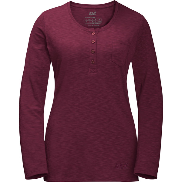Jack Wolfskin Winter Travel Henley Frauen - Funktionsshirt