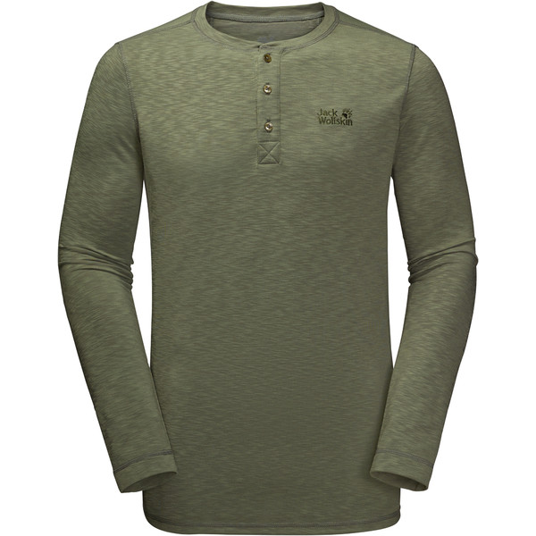Jack Wolfskin WINTER TRAVEL HENLEY Männer - Funktionsshirt