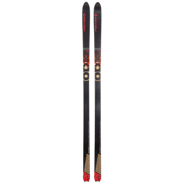 Fischer TRAVERSE 78 CROWN / SKIN Unisex - Backcountry Ski