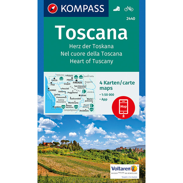 KOKA 2440 TOSCANA - Wanderkarte