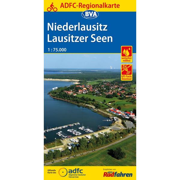 ADFC-Regionalkarte Niederlausitz Lausitz