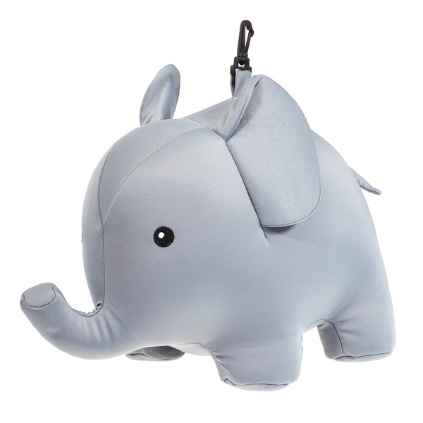 Kikkerland Zip & Flip Elephant Pillow - Kissen