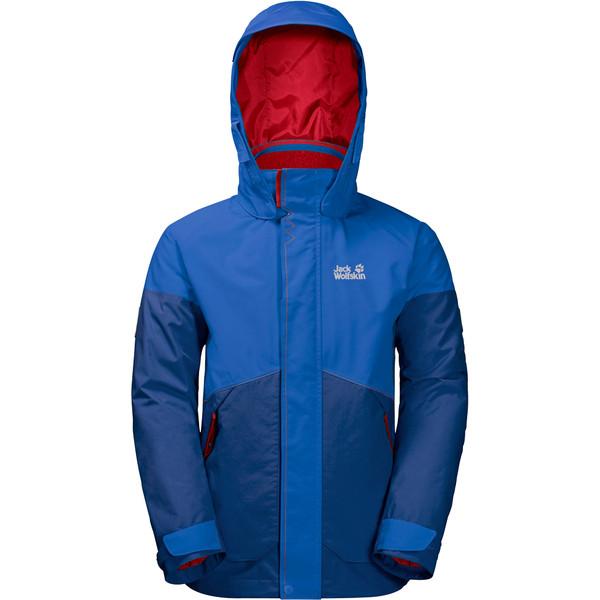 Jack Wolfskin Polar Wolf 3In1 Jacket Kinder - Winterjacke