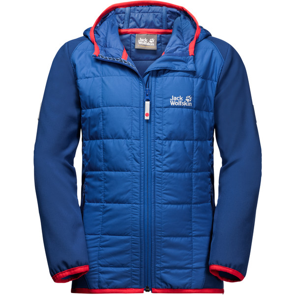 Jack Wolfskin Grassland Hybrid Jacket Kinder - Softshelljacke