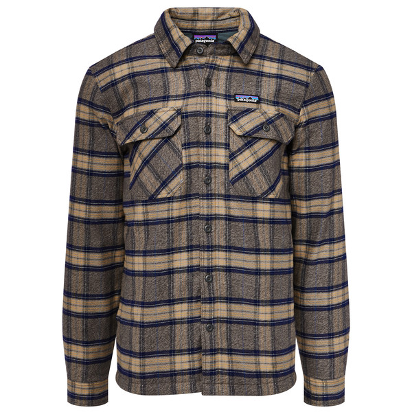 Patagonia Insulated Fjord Flannel Jkt Männer - Outdoor Hemd