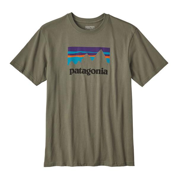 Patagonia Shop Sticker Cotton T-Shirt Männer - T-Shirt