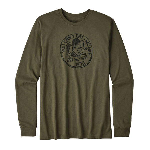 Patagonia L/S Can't Eat Money Cotton/Poly Responsi Männer - Sweatshirt