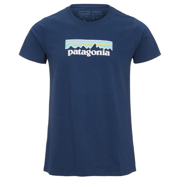 Patagonia Pastel P-6 Logo Cotton Crew T-Shirt Frauen - T-Shirt
