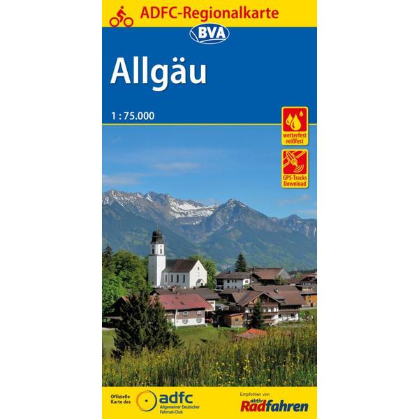 ADFC-Regionalkarte Allgäu 1:75.000