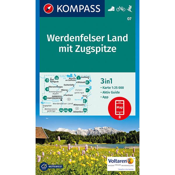 KOKA 07 Werdenfelser Land mit Zugspitze