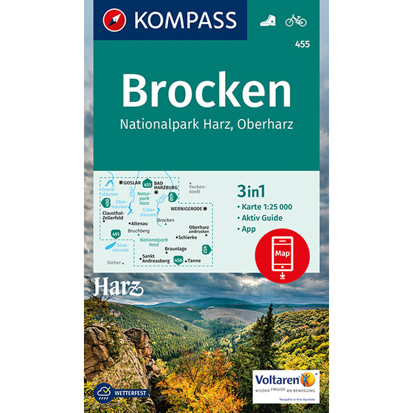 KOKA 455 Brocken, Nationalpark Harz