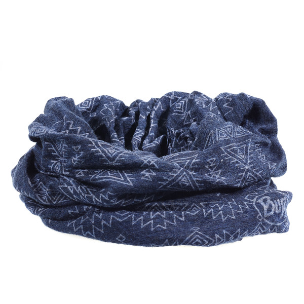 Buff Lightweight Merino Wool Patterned Unisex - Schal