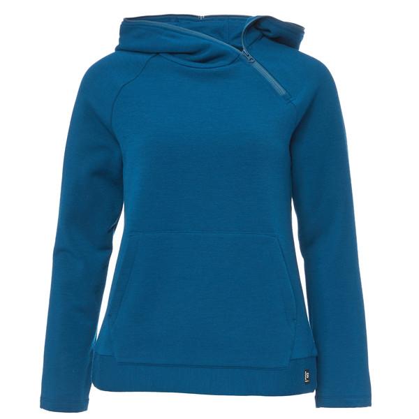 Supernatural Motion Shoulder Zip Frauen - Kapuzenpullover