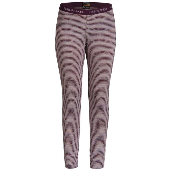 Icebreaker Oasis Leggings Diamond Line Frauen - Leggings