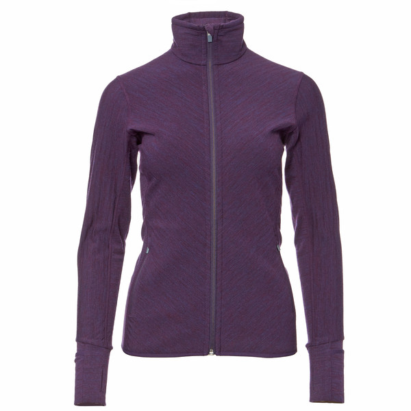 Icebreaker Descender LS Zip Frauen - Wolljacke