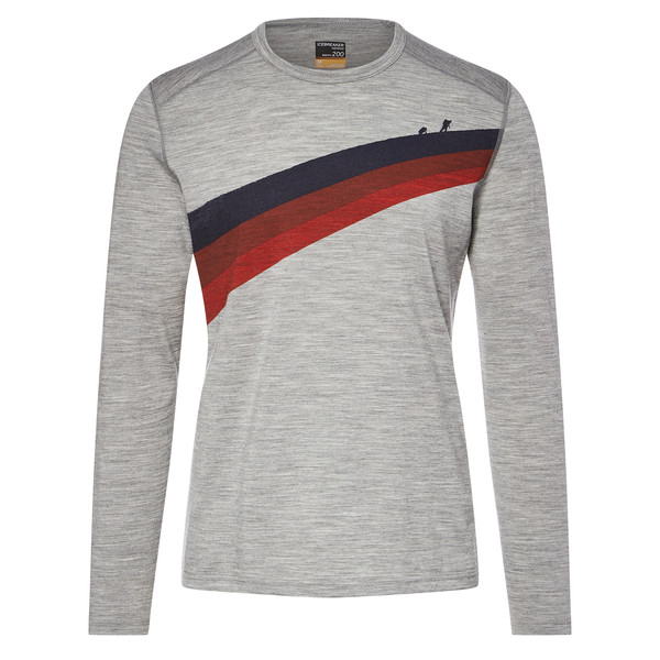 Oasis LS Crewe Ascent Stripe