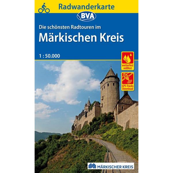 Radwanderkarte BVA Märkischer Kreis