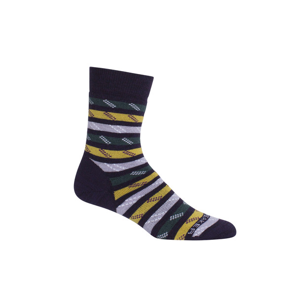 Icebreaker Wmns Lifestyle Medium Crew Rope Twist Frauen - Freizeitsocken