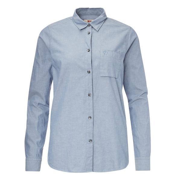 Fjällräven Övik Chambray Shirt LS Frauen - Outdoor Bluse