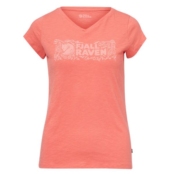 Fjällräven Logo Stamp T-Shirt Frauen - T-Shirt
