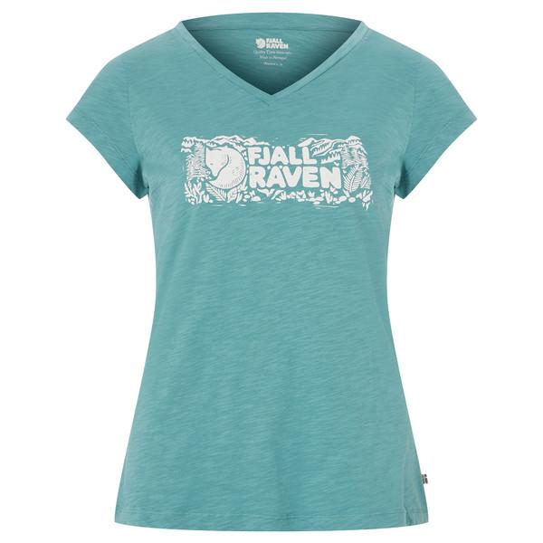 Fjällräven LOGO STAMP T-SHIRT W Frauen - T-Shirt