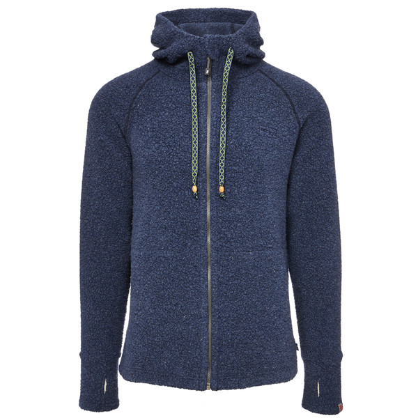 VARG Malo Wool Jersey with Zip Männer - Wolljacke