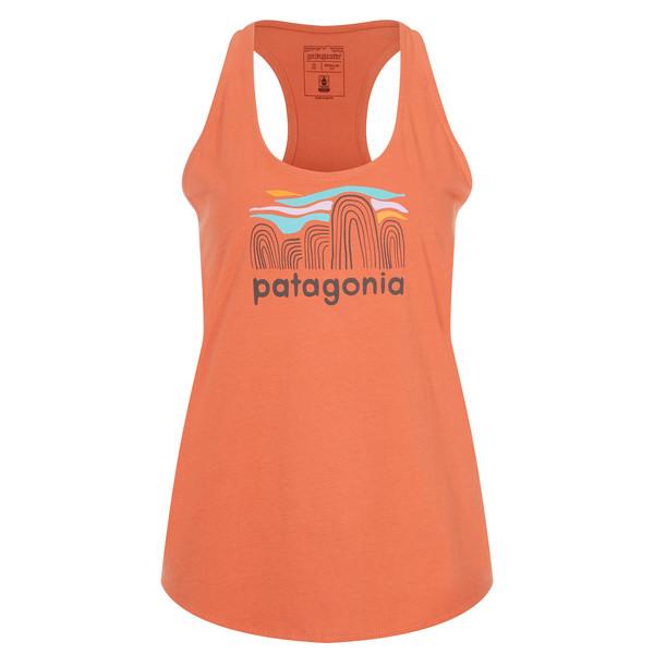 Patagonia Fitz Roy Boulders Organic Tank Frauen - Muskelshirt