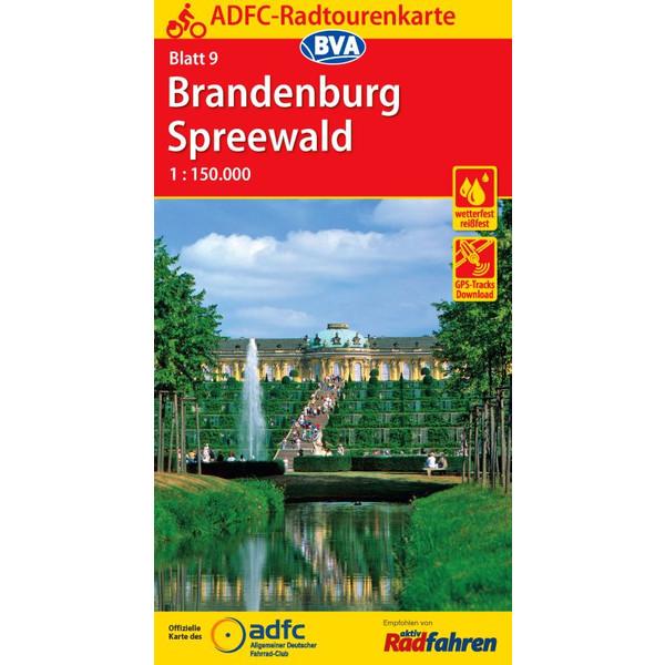 ADFC-Radtourenkarte 09 Brandenburg