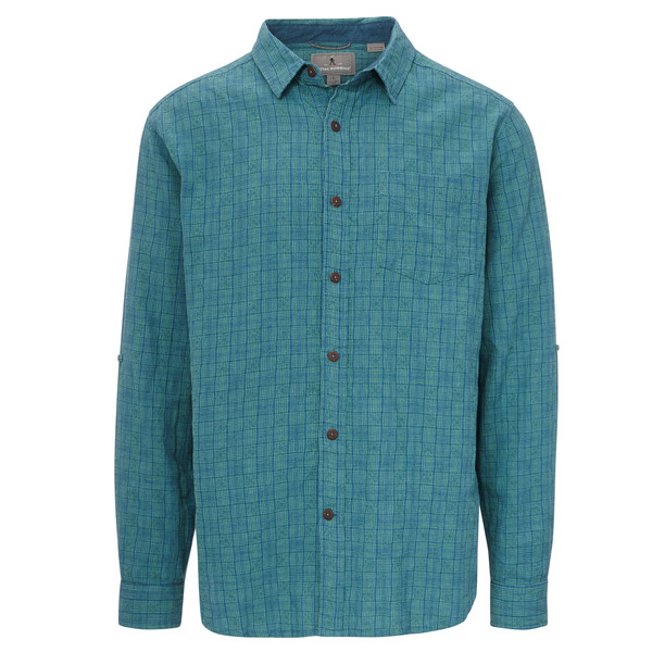 Royal Robbins COOL MESH PLAID L/S Männer - Outdoor Hemd