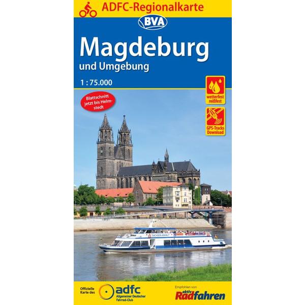 ADFC-Regionalkarte Magdeburg
